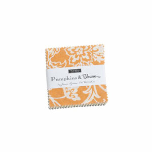 Pumpkins And Blossoms Mini Charm Packs By Moda - Packs Of 24