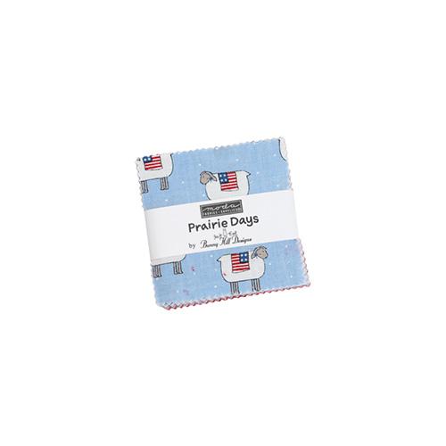 Prairie Days Mini Charm Packs By Moda - Packs Of 24