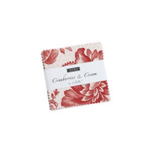 Cranberries & Cream Mini Charm Packs By Moda - Packs Of 24