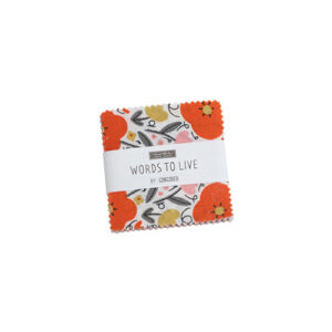 Words To Live By Mini Charm Packs By Moda - Packs Of 24