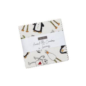 Animal Crackers Mini Charm Packs By Moda - Packs Of 24