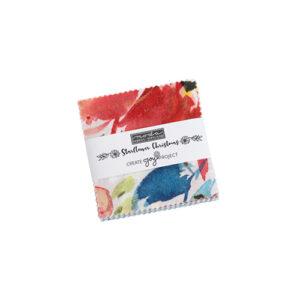Starflower Christmas Mini Charm Packs By Moda - Packs Of 24