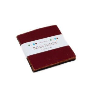 Bella Solids Charm Packs - Kansas - Pack Of 12