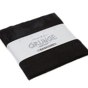 Grunge Charm Packs - Black - Packs Of 12