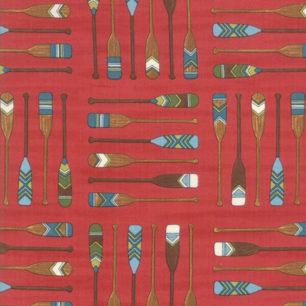 Explore Brushed By Deb Strain For Moda - Adirondack Red