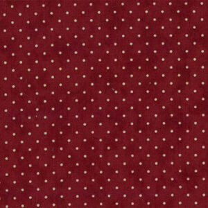 Essential Dots By Moda - Cranberry