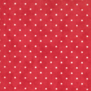 Essential Dots By Moda - Christmas Red