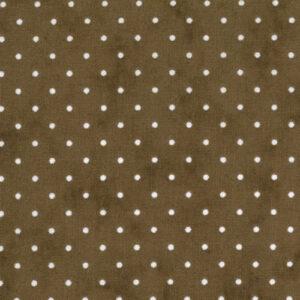 Essential Dots By Moda - Cocoa