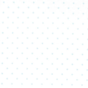 Essential Dots By Moda - White/Baby Blue