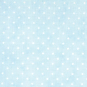 Essential Dots By Moda - Baby Blue