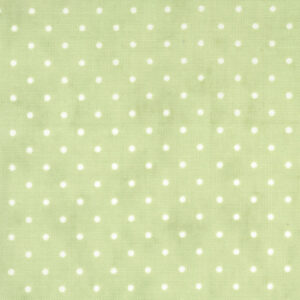 Essential Dots By Moda - Spring Green