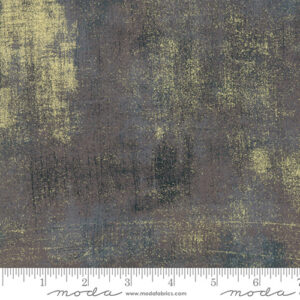 Grunge Metallic By Basicgrey For Moda - Lead