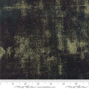 Grunge Metallic By Basicgrey For Moda - Black