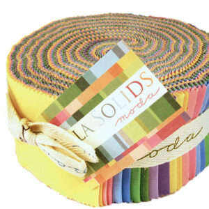 Bella Solids Jelly Rolls - 30's Colors - Packs Of 4