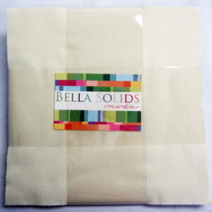 Bella Solids Layer Cakes - Snow - Packs Of 4