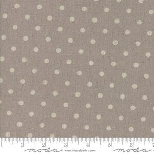Mochi Linen Dot By Momo - 30% Linen/70% Cotton - Putty