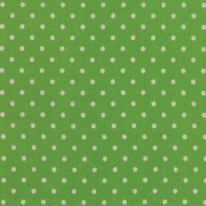 Mochi Linen Dot By Momo - 30% Linen/70% Cotton - Fresh Grass