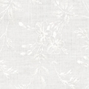 Muslin Mates  By Moda - Floral White