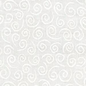 Muslin Mates Swirl By Moda - White
