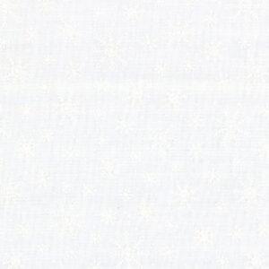 Muslin Mates Snowflakes By Moda - White