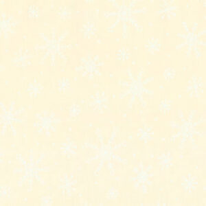 Muslin Mates Snowflakes By Moda - Muslin