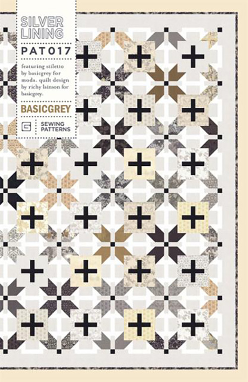 Silver Lining Pattern By Basicgrey For Moda - Min. Of 3