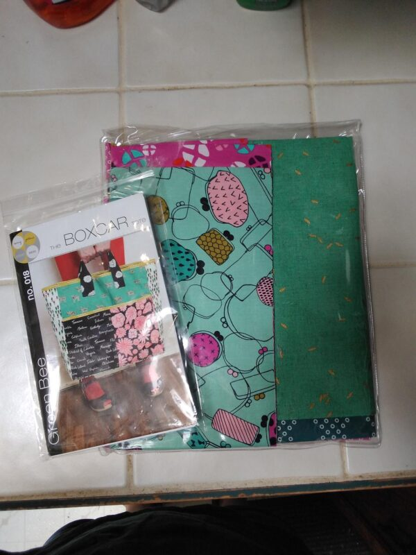 Boxcar Tote Pattern By Green Bee Patterns For Moda - Min. Of 3