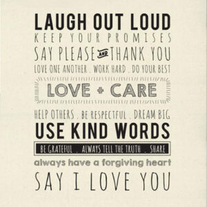 Use Kind Words Packaged Digital Panel 54