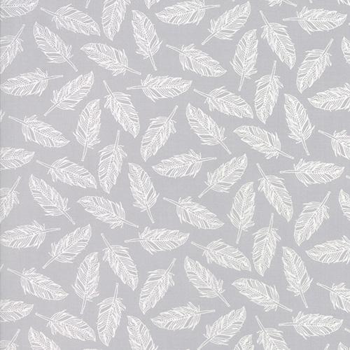Whispers Muslin Mates By Studio M For Moda - Zen Grey