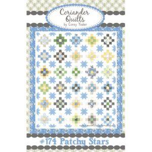 Patchy Stars Pattern By Coriander Quilts For Moda - Minimum Of 3