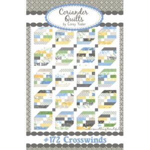 Crosswinds Pattern By Coriander Quilts For Moda - Minimum Of 3