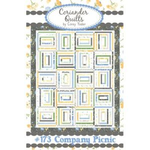 Company Picnic Pattern By Coriander Quilts For Moda - Minimum Of 3