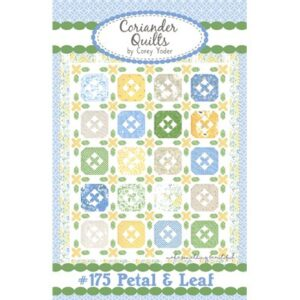 Petal & Leaf Pattern By Coriander Quilts For Moda - Minimum Of 3