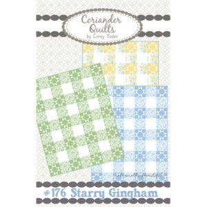 Starry Gingham Pattern By Coriander Quilts For Moda - Minimum Of 3