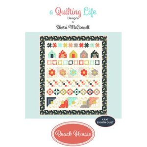 Beach House Pattern By Quilting Life Design For Moda - Minimum Of 3