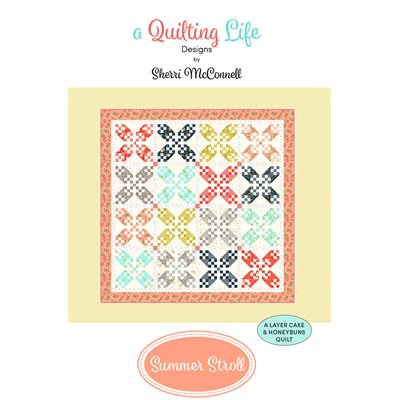 Summer Stroll Pattern By Quilting Life Design For Moda - Minimum Of 3