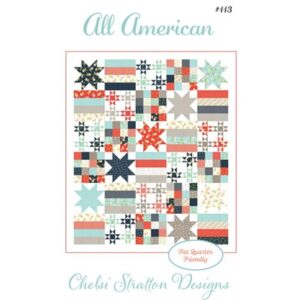 All American Pattern By Chelsi Stratton For Moda - Minimum Of 3