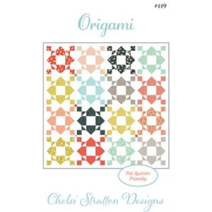 Origami Pattern By Chelsi Stratton For Moda - Minimum Of 3