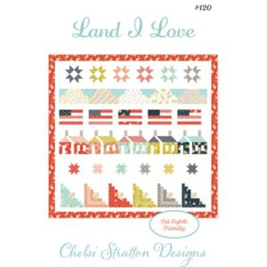 Land I Love Pattern By Chelsi Stratton For Moda - Minimum Of 3
