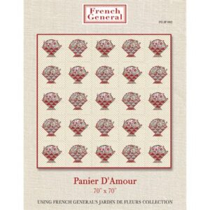 Panier D'Amour Pattern By French General For Moda - Minimum Of 3