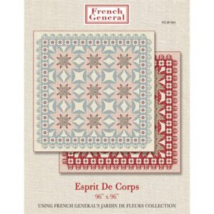 Esprit De Corps Pattern By French General For Moda - Minimum Of 3