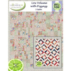 Low Volume With Pizzazz Pattern By Lavender Lime For Moda - Minimum Of 3