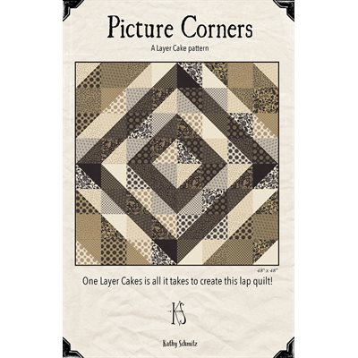 Picture Corners Pattern By Kathy Schmitz For Moda - Minimum Of 3