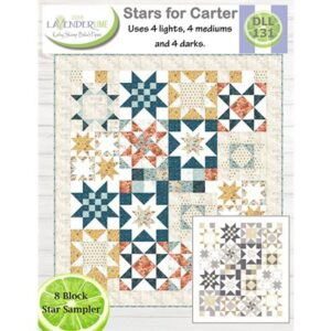 Stars For Carter Pattern By Lavender Time For Moda