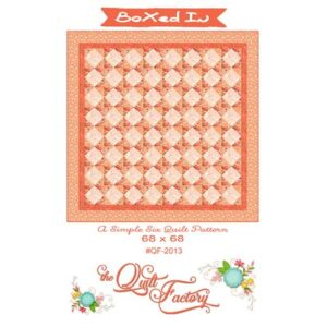Boxed In Pattern By The Quilt Factory For Moda - Min. Of 3