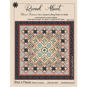 Round About Pattern By Bits N Pieces For Moda - Min. Of 3