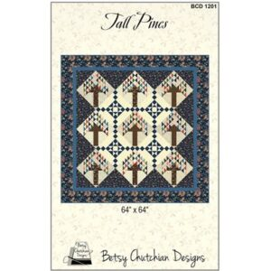 Tall Pines Pattern By Betsy Chutchian Design For Moda - Min. Of 3