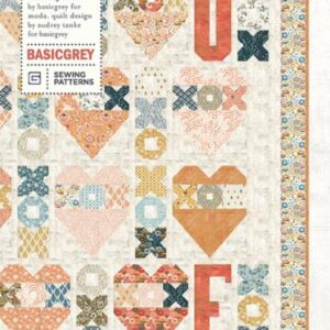 Fall N Love Pattern By Basicgrey For Moda - Min. Of 3