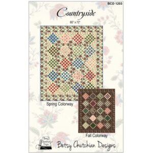 Countryside Pattern By Betsy Chutchian Design For Moda - Min. Of 3