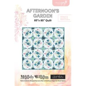 Afternoon's Garden Pattern By Create Joy Project For Moda - Min. Of 3